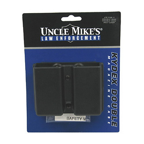 Uncle Mikes Uncle Mikes Kydex Magazine Case Paddle Model, Double Row 51362