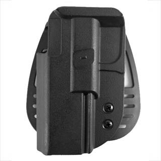 Uncle Mikes Size 21, Left Handed, Kydex Paddle Holster 5421-2