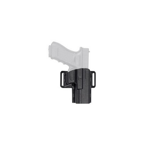 Uncle Mikes Uncle Mikes Reflex Open Top Holster, Black Size 07 Right Hand 74071