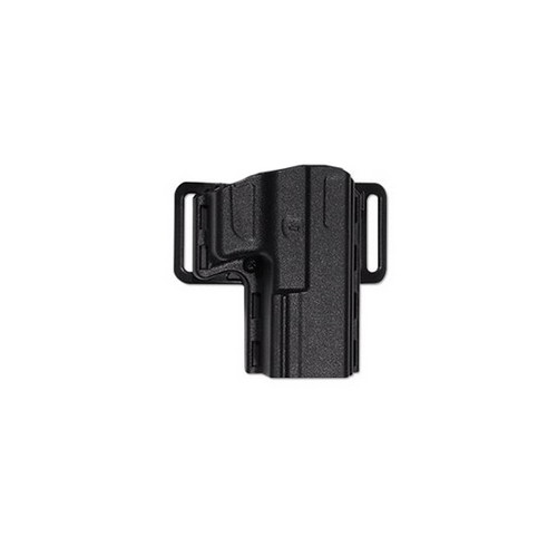 Uncle Mikes Uncle Mikes Reflex Open Top Holster, Black Size 09 Left Hand 74092