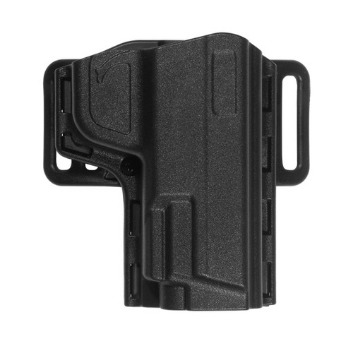 Uncle Mikes Reflex Open Top Holster, Black Size 11 Right Hand 74111