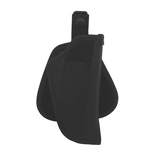 Uncle Mikes Paddle Holster Cordura Nylon Black Size 0, Right Hand