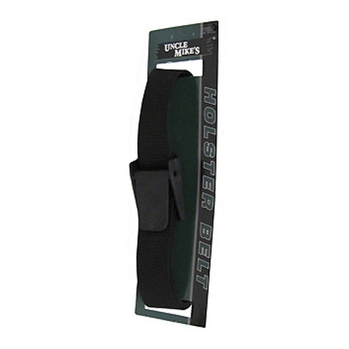 Uncle Mikes Uncle Mikes Sidekick Holster Belt Nylon Web Black 88001