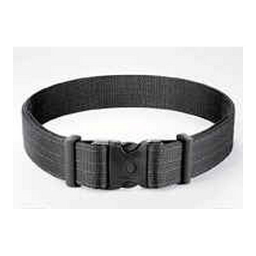 Uncle Mikes Uncle Mikes Deluxe Duty Belt Nylon Web Black Large 88021