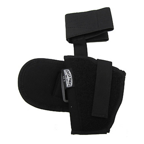 Uncle Mikes Uncle Mikes Kodra Ankle Holster, Black Size 16, Left Hand 88162
