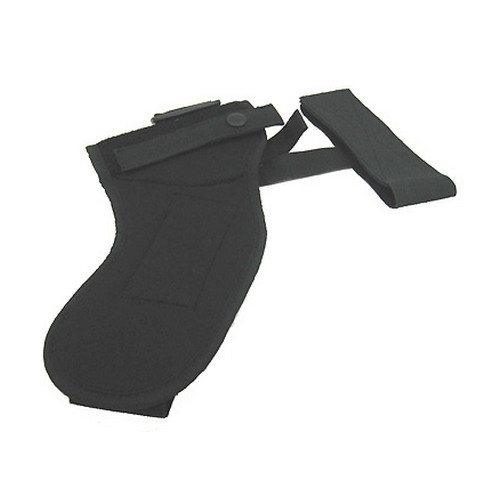 Uncle Mikes Uncle Mikes Sidekick Ankle Holster Cordura Nylon Black Size 12, Right Hand 88121
