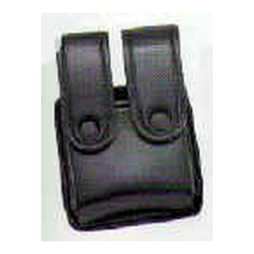 Uncle Mikes Uncle Mikes Cordura Magazine Case Double - Glock 10mm, 45, HK 45 Black 88261