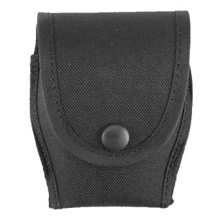 Uncle Mikes Uncle Mikes Cordura Duty Cuff Case, Black Single 8878-1
