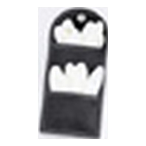 Uncle Mikes Uncle Mikes Cordura Latex Glove Pouch Black Double 88961