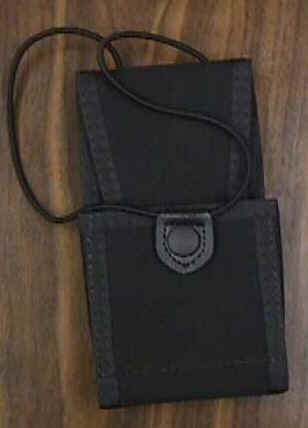 Uncle Mikes Uncle Mikes Padded Radio Case w/Loop Size 2 8899-2