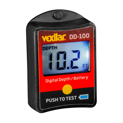 Vexilar Inc. Vexilar Inc. Digital Depth and Battery Gauge DD-100