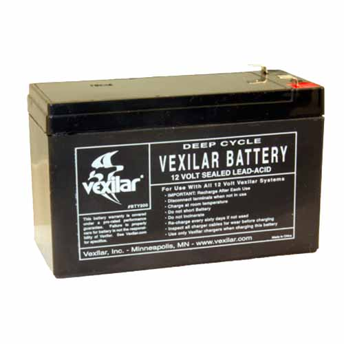 Vexilar Inc. Vexilar Inc. Battery Only-(9 Amp Hour High Perform Battery) V-100
