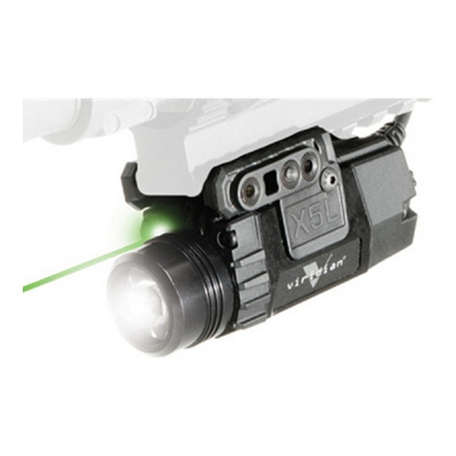 Viridian Green Lasers Viridian Universal Mount Green Laser w/Tactical Light 160/190Lumens/Pressure Switch X5L-RS