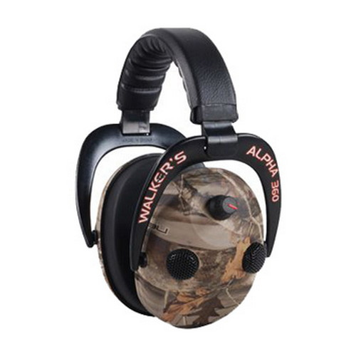 Walker Game Ear Walkers Game Ear Power Muffs Alpha Muff 360 Quad w/ Next Camo GWP-AM360NXT
