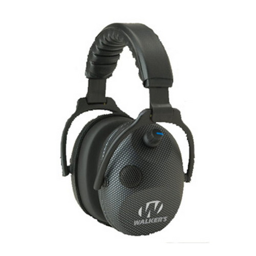 Walker Game Ear Walkers Game Ear Power Muffs Alpha Power Muffs/ Electronic/ Carbon GWP-AMCARB