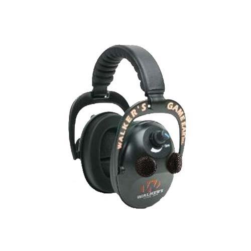 Walker Game Ear Walker Game Ear Elite Power Muff Quads, Black GWP-EPMQ