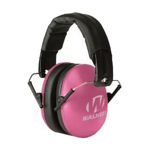 Walker Game Ear Youth & Women Folding Muff Pink GWP-YWFM2-PNK