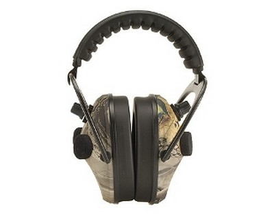 Walker Game Ear Walkers Game Ear Power Muffs Quad, Realtree HD Green PMQCRT