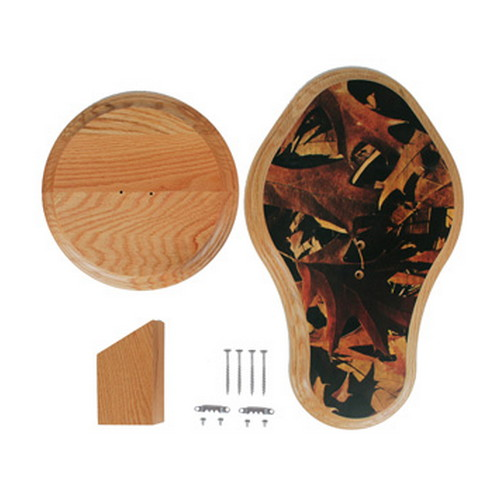 Walnut Hollow Walnut Hollow Deluxe Euro Skull Display Kit Oak Leaves 40035