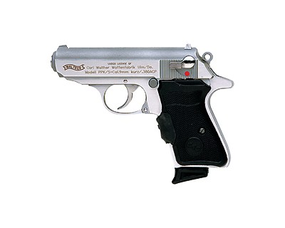 Walther Pistol Walther PPK Series 380 Stainless Steel 7-Shot 3.35