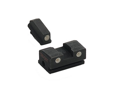 Walther P99/PPS Tritium Night Sights Adjustable Rear 3-Dot Green 2679696