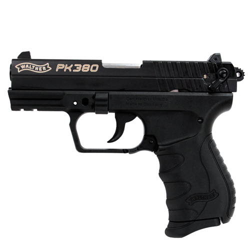 Walther Pistol Walther PK380 .380 Auto Black, 3.66