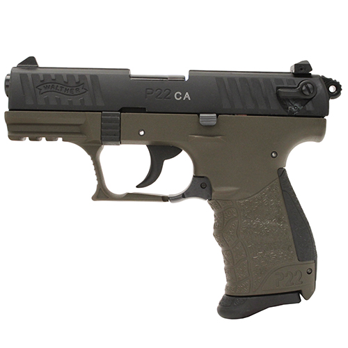 Walther Walther P22 Pistol, .22 Long Rifle Military, 3.42