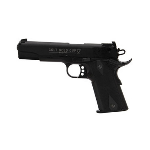 Walther Pistol Walther Colt 1911 22 Long Rifle Gold Cup, Black, 12 Round 5170306