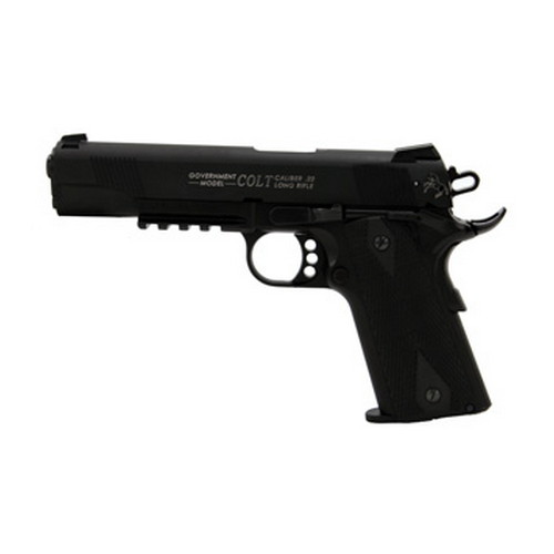 Walther Pistol Walther Colt 1911 22 Long Rifle Rail Gun, Black, 12 Round 5170308