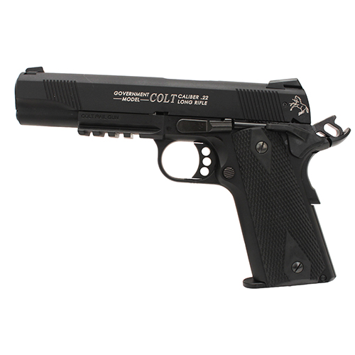 Walther Pistol Walther Colt 1911 22 Long Rifle Rail Gun, Black, 10 Round 517030810