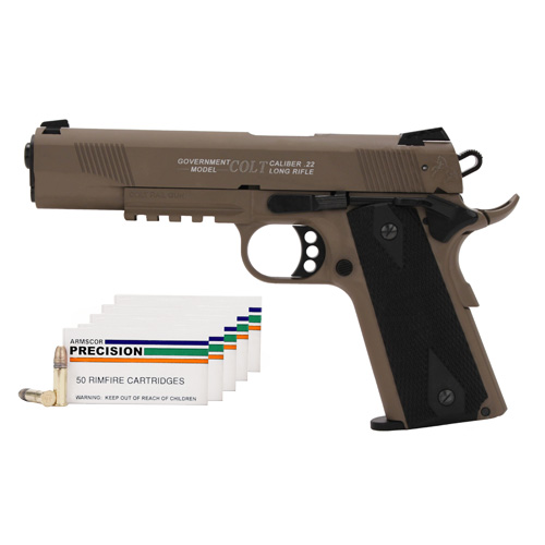 Walther Walther Colt Government 1911 Rail Gun 22 Long Rifle 5