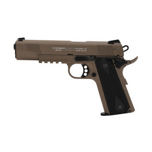 Walther Pistol Walther Colt 1911 22 Long Rifle Rail Gun, Flat Dark Earth, 12 Round 5170310