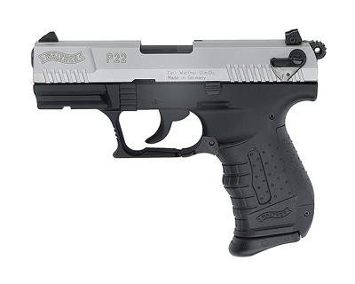 Walther Pistol Walther P22 Series .22 LR .22LR Nickel 3.4