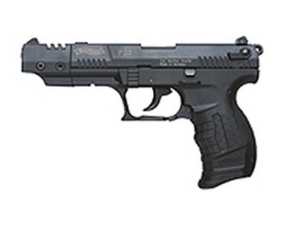 Walther Pistol Walther P22 Series .22 Long Rifle Black, Target, 5
