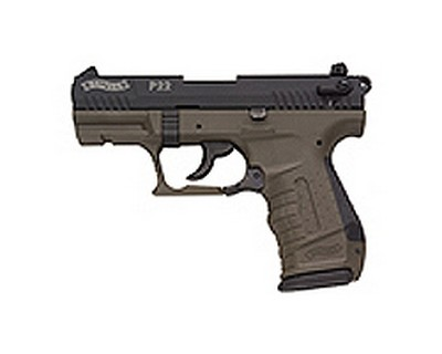 Walther Pistol Walther P22 Series .22 Long Rifle Military 3.4