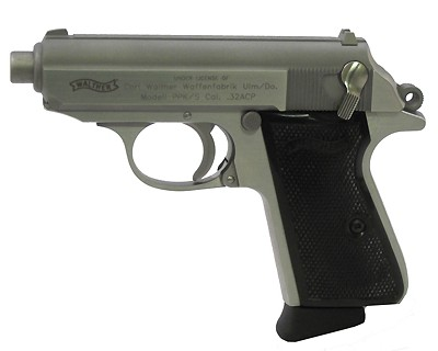 Walther Pistol Walther PPK/S .32 ACP, Stainless Steel, 8 Shot, 3.35