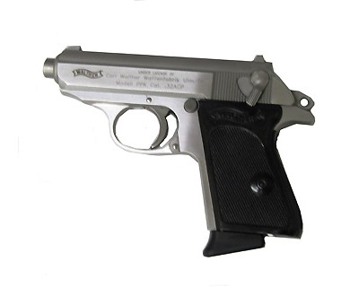 Walther Pistol Walther PPK 32 ACP Stainless Steel 7-Shot 3.35