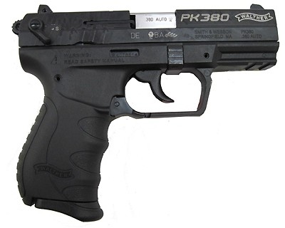 Walther Pistol Walther PK380 Black, 3.66