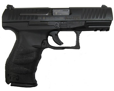 Walther PPQ .40 S&W Black Synthetic, 4