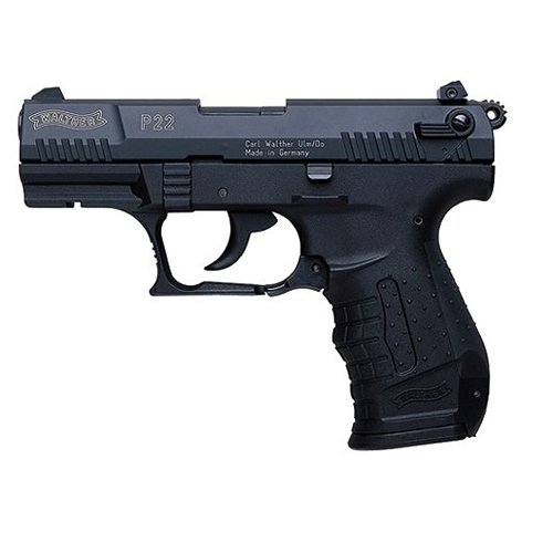 Walther Pistol Walther P22 Series .22 Long Rifle 10-Shot 3.4