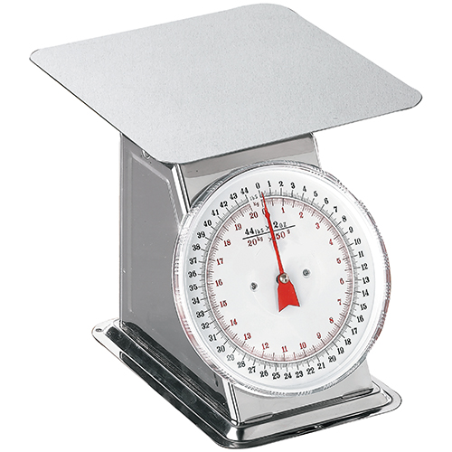 Weston Products Weston Products Scale Dial Flat Top 44 lb 24-0302