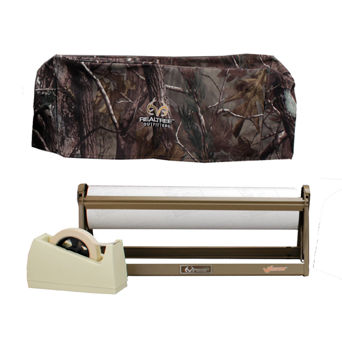 Weston Products Freezer Paper Kit Dispenser/Tape/Paper/Cover Realtree