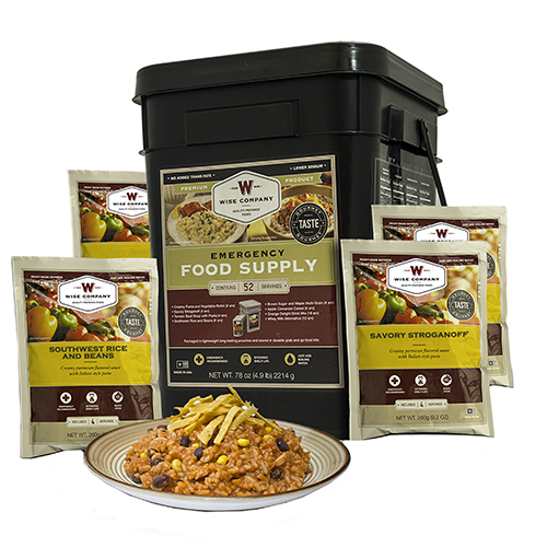 Wise Foods Wise Foods Prepper Pack Emergency Meal Kit Bucket 01-152