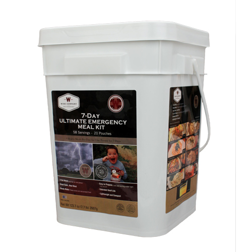 Wise Foods Wise Foods Ultimate 7 Day Emergency Kit Bucket 01-858