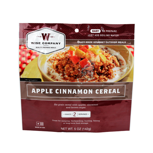 Wise Foods Wise Foods Apple and Cinnamon Cereal 2 Serving Pouch 03-312