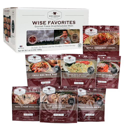 Wise Foods Wise Foods Wise Favorites 7 Pouches 05-713