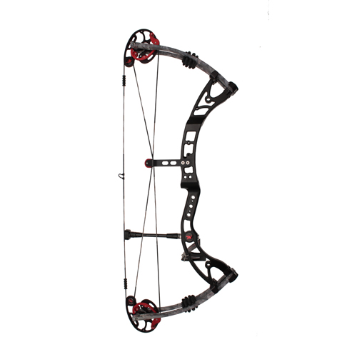 Winchester Archery Winchester Archery Quicksilver 31 SS Compound Bow, Right Hand, Black Riser, Camo Limbs 70 lb, 28 1/2