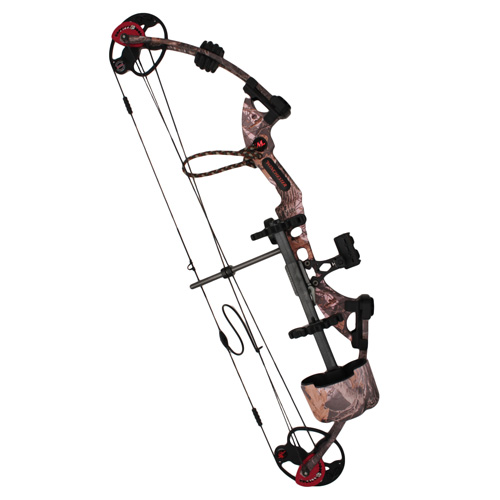 Winchester Archery Winchester Archery Destiny SS 50 lb Pink Realtree Hardwood HD Package Left Hand 10650LHRPP
