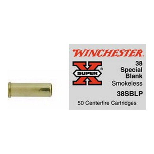 Winchester Ammo Winchester Ammo 38 Special, 0gr, Smokeless Powder, (Per 50) 38SBLP