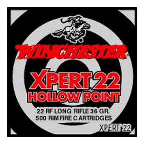 Winchester Ammo Winchester Ammo 22 Long Rifle 22 Long Rifle, 36gr Xpert Lead Hollow Point (Per 500) XPERT22